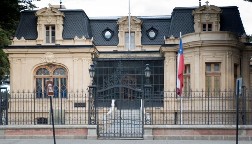 Museu de Punta Arenas na praça central