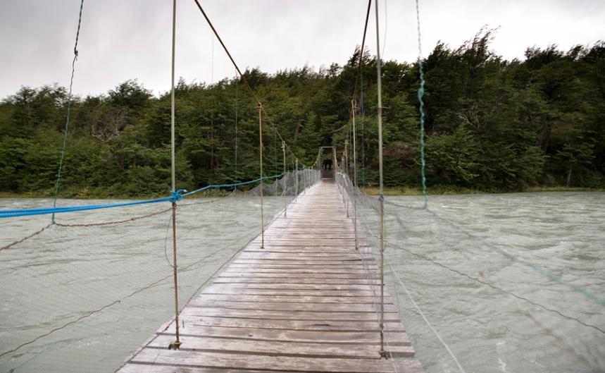 Ponte sobre o rio Pingo