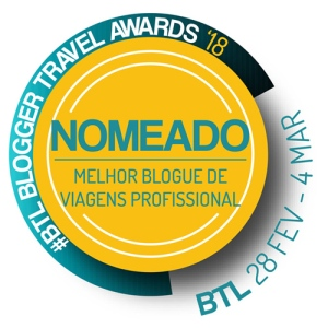 BTL BLOGGER TRAVEL AWARDS 2018