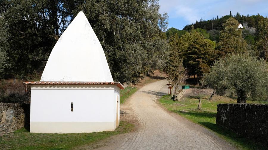 A primeira das sete capelas