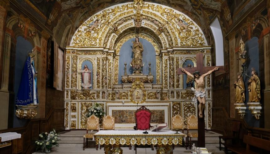 Retábulo da igreja