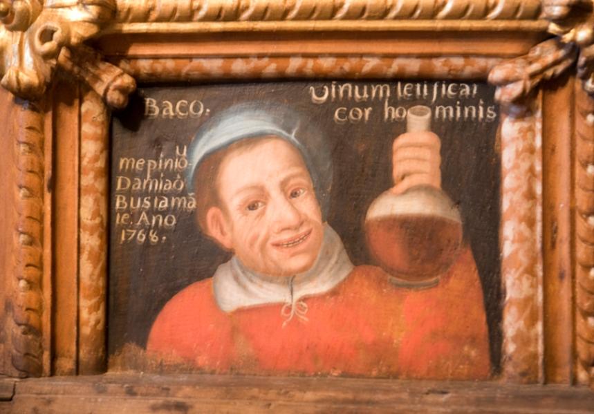 Auto retrato de Damião Bustamante