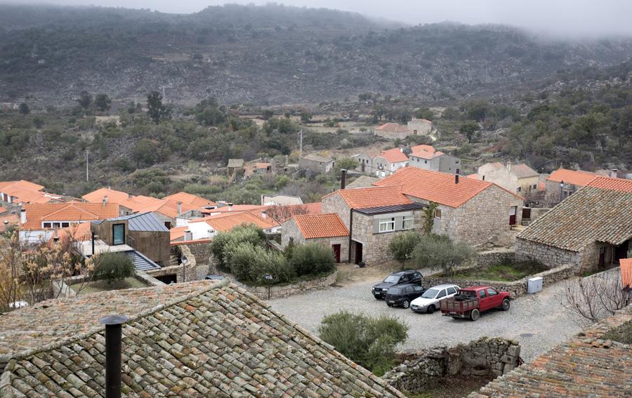 Marialva vista das muralhas do castelo