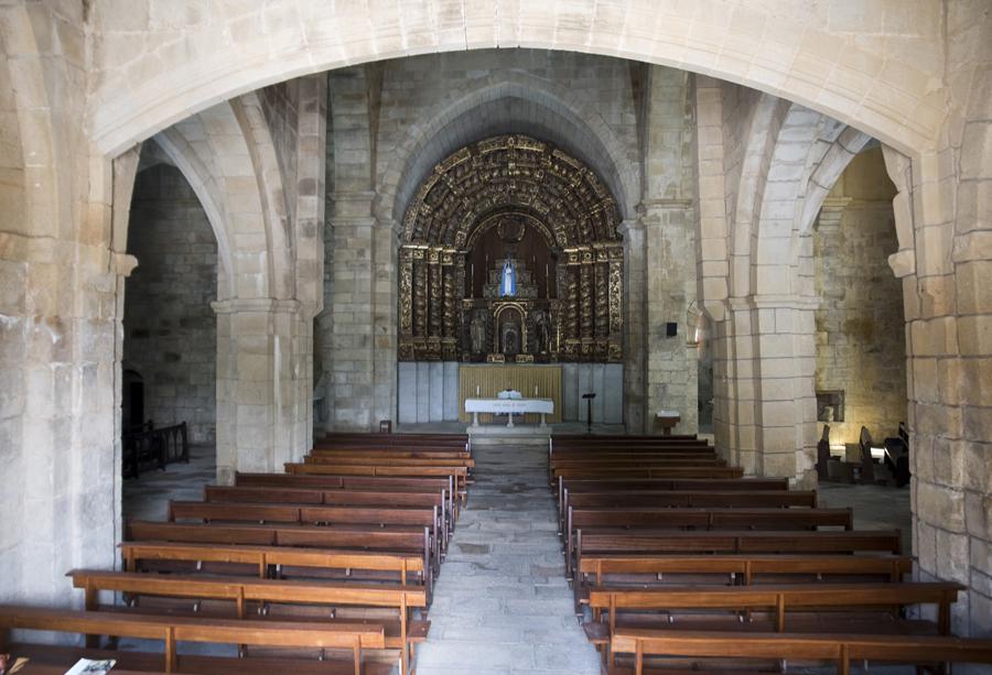 Interior da igreja do Convento