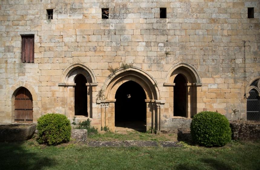 Jardim e entrada para a Sala do Capítulo