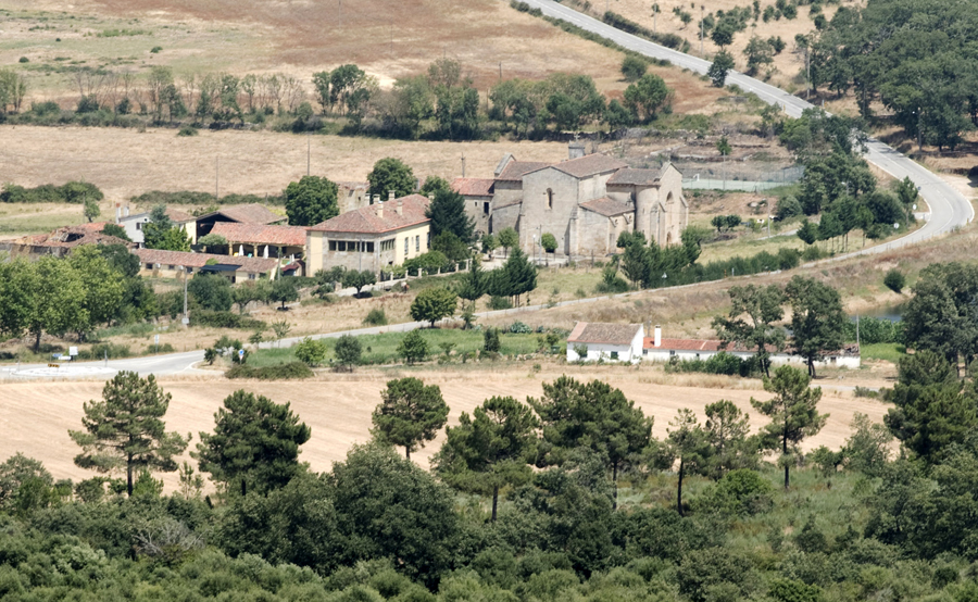 Vista do alto de Castelo Rodrigo