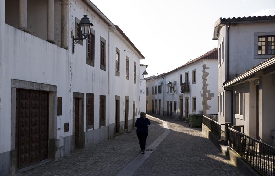 Rua no centro histórico de Pedrógão Grande
