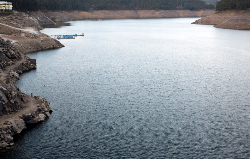 Vista do Miradouro da Barragem do Cabril