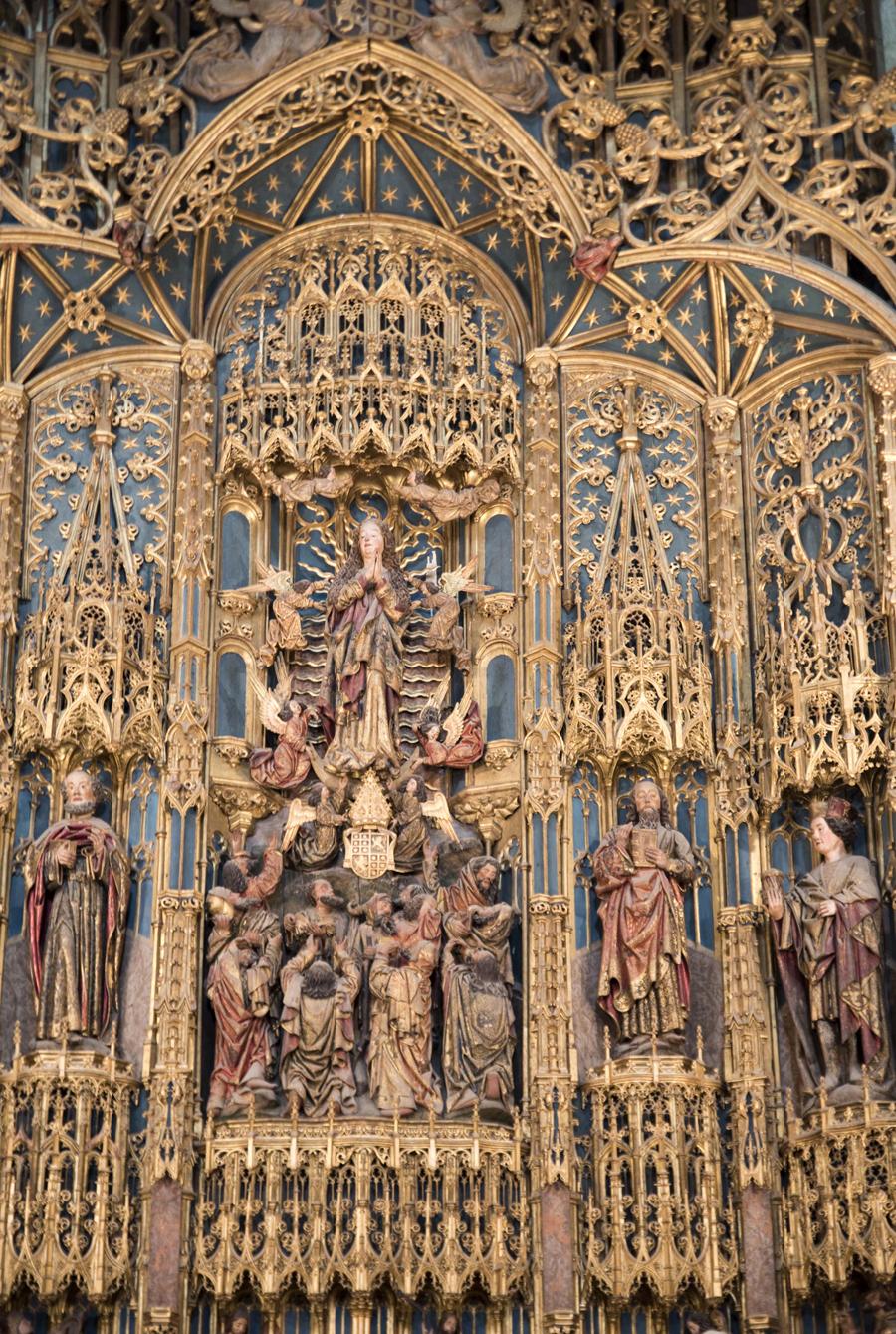 Retábulo da capela-mor da Sé Velha