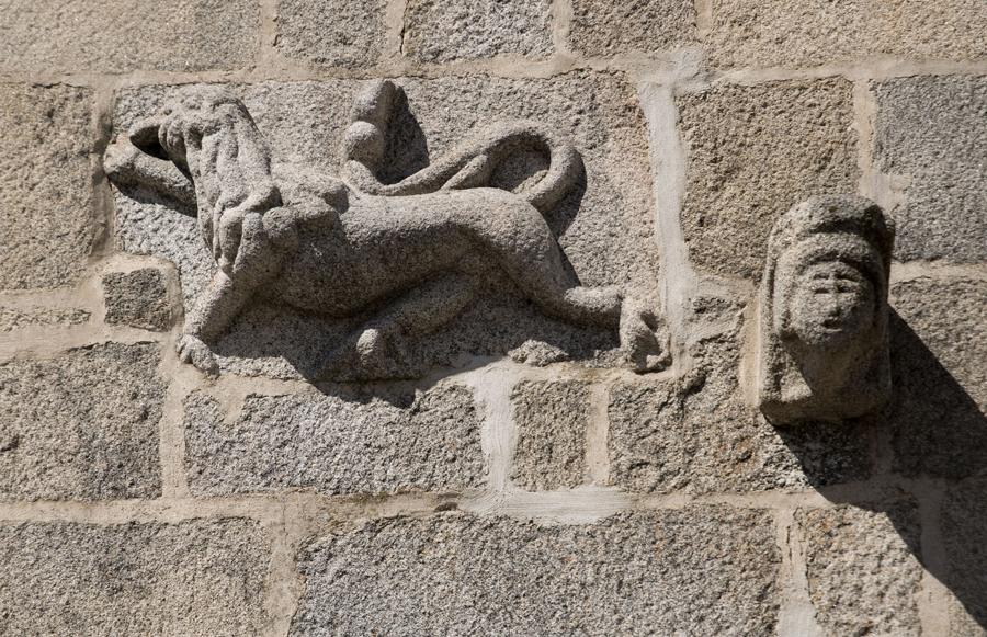 O leão de Judá na Casa do Gato Preto