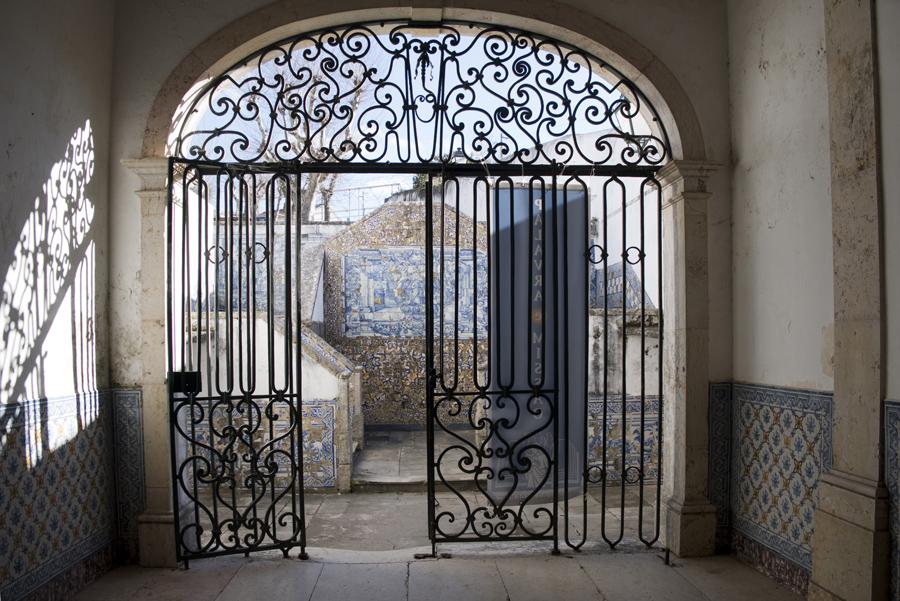 Portão de acesso ao convento