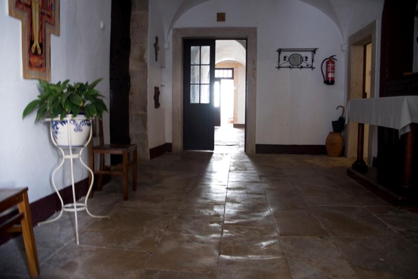 Interior do Convento - portaria