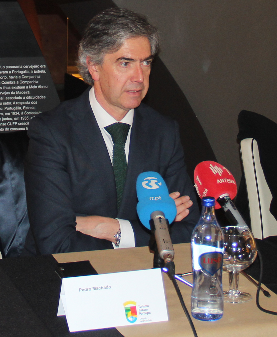 Pedro Machado, Presidente do Turismo Centro Portugal