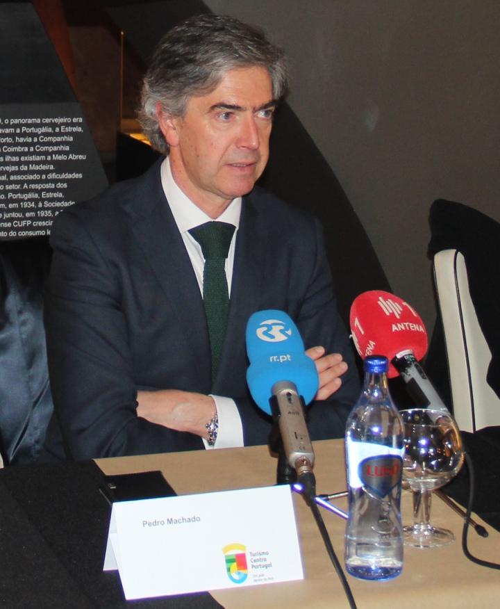 Pedro Machado, Presidente do Turismo Centro Portugal