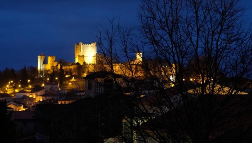 Vista para o castelo