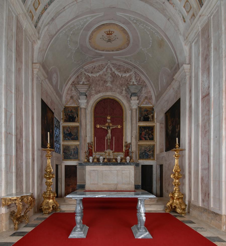Capela, Altar Mor - © J.Real Andrade/MBCB, Arquivo Fotográfico