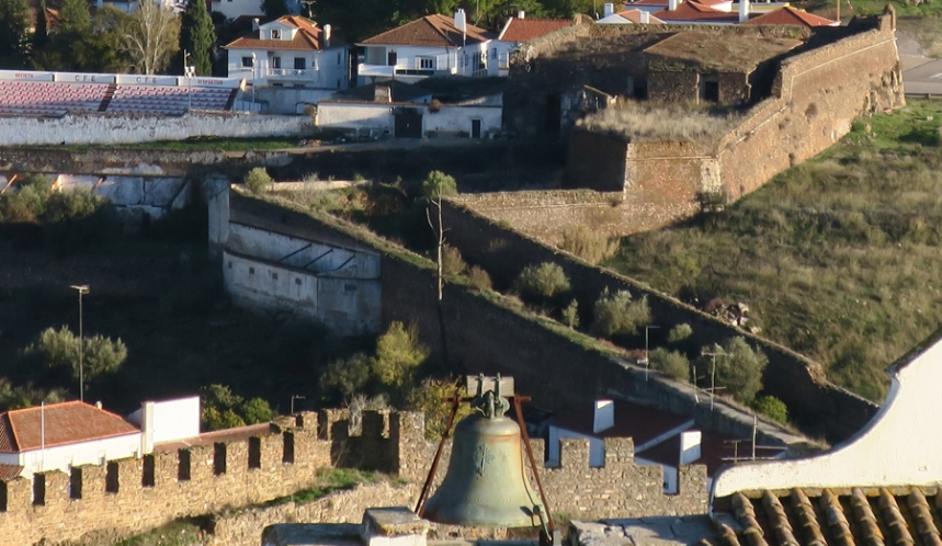 Muralhas vista da Torre