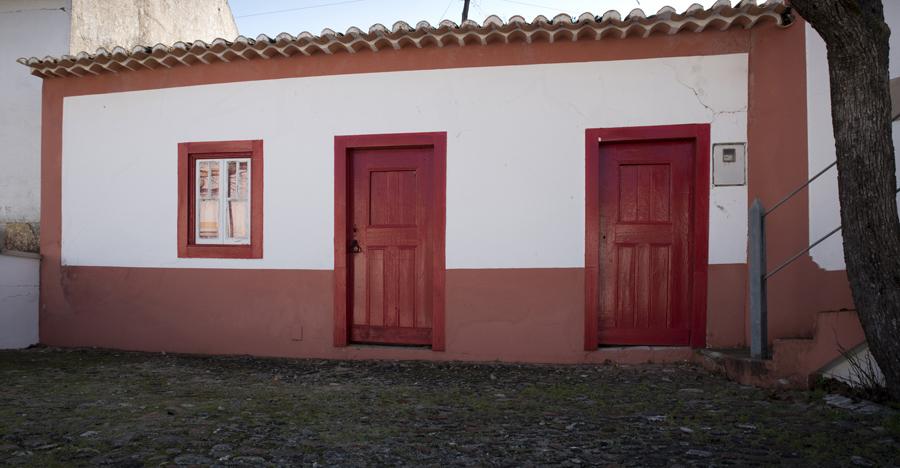 A casa da família de Humberto Delgado