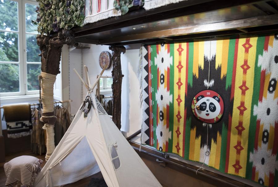A sala dos índios