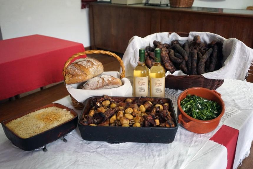 Gastronomia do concelho de S. Pedro do Sul ©C.M. S. Pedro do Sul