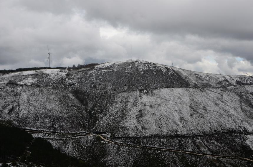 Alto da Serra da Lousã onde estão os poços neveiros ©Jorge Nunes