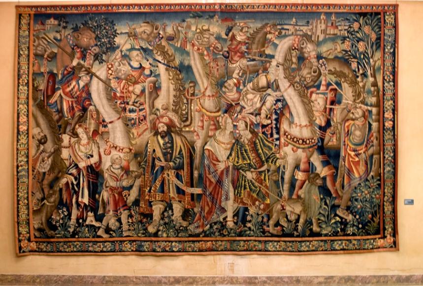Uma das tapeçarias de Tournai