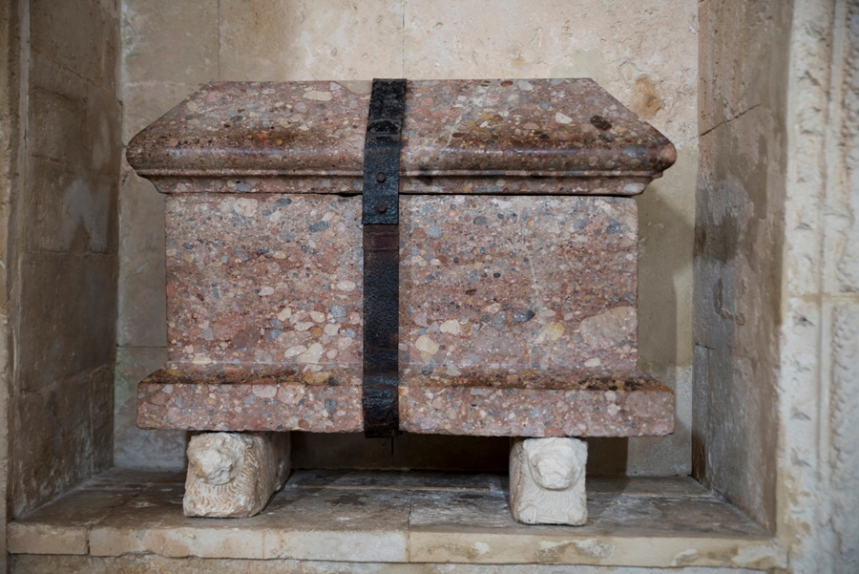 A arca-ossário de D. Jorge