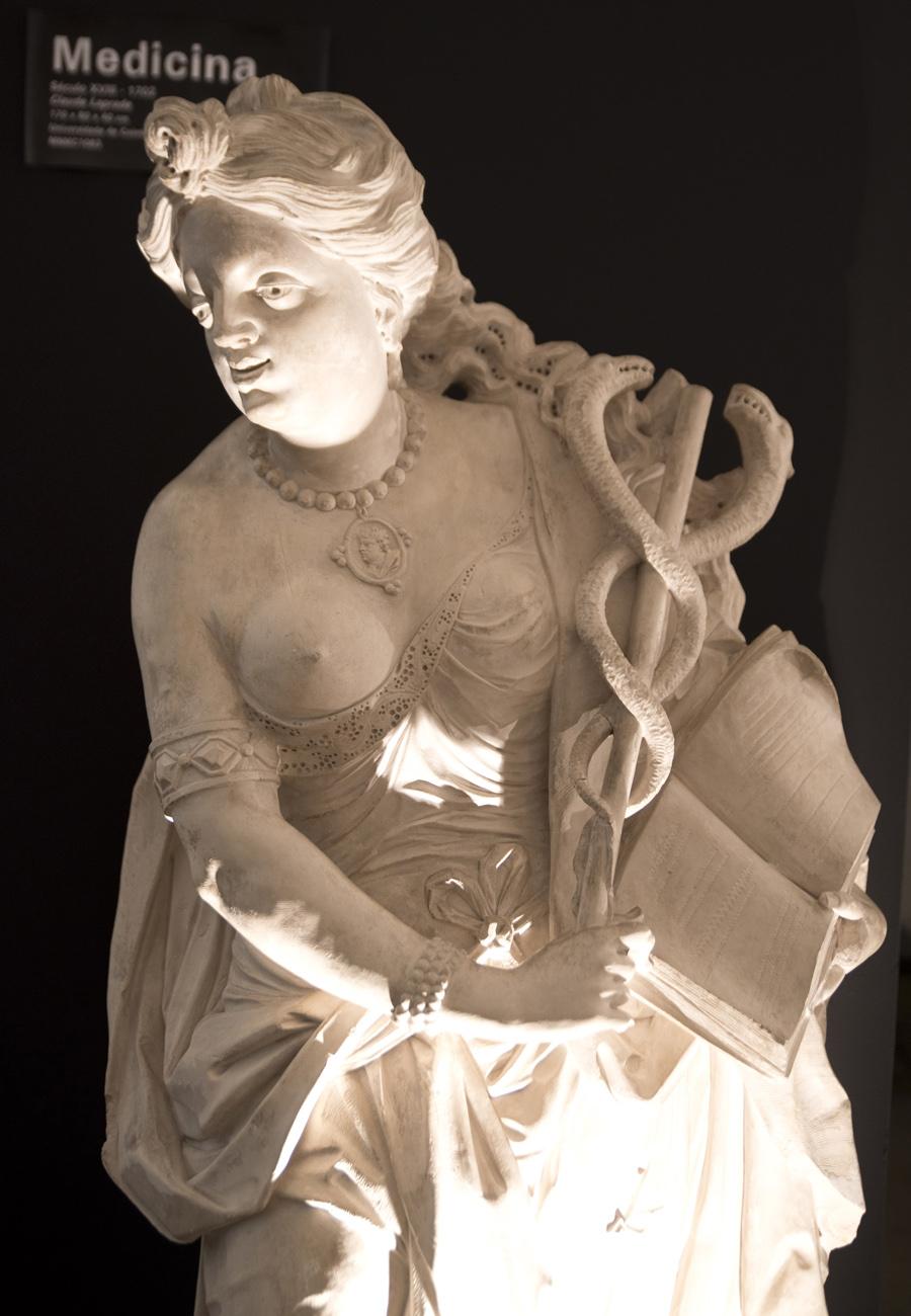 Estátua no Museu da Pedra