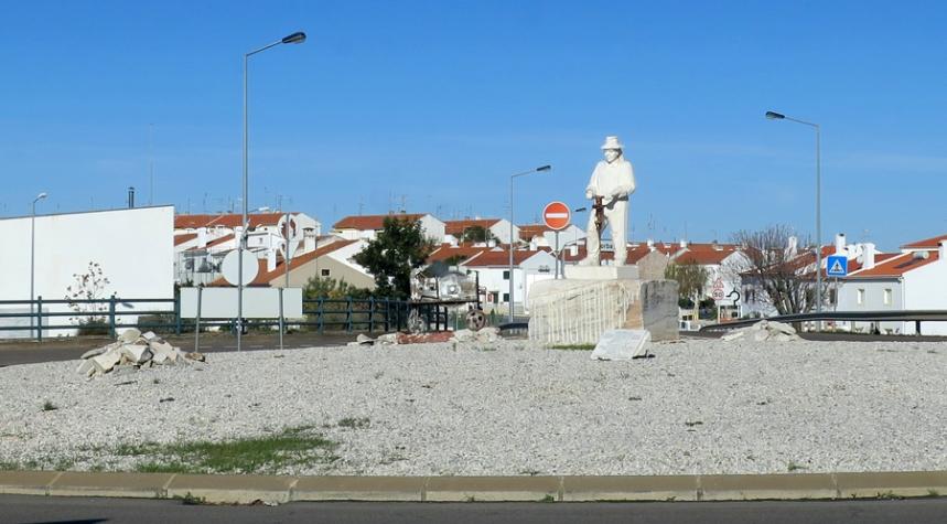 Homenagem aos trabalhadores do mármore em Borba