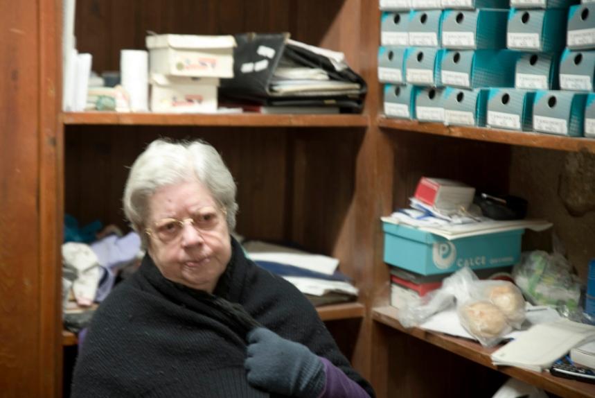 Irene a dona da loja Nandita