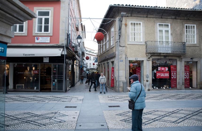 A rua Direita