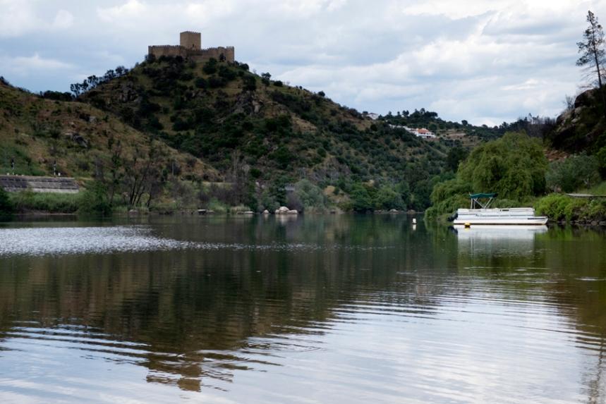 Castelo de Belver visto do Almal
