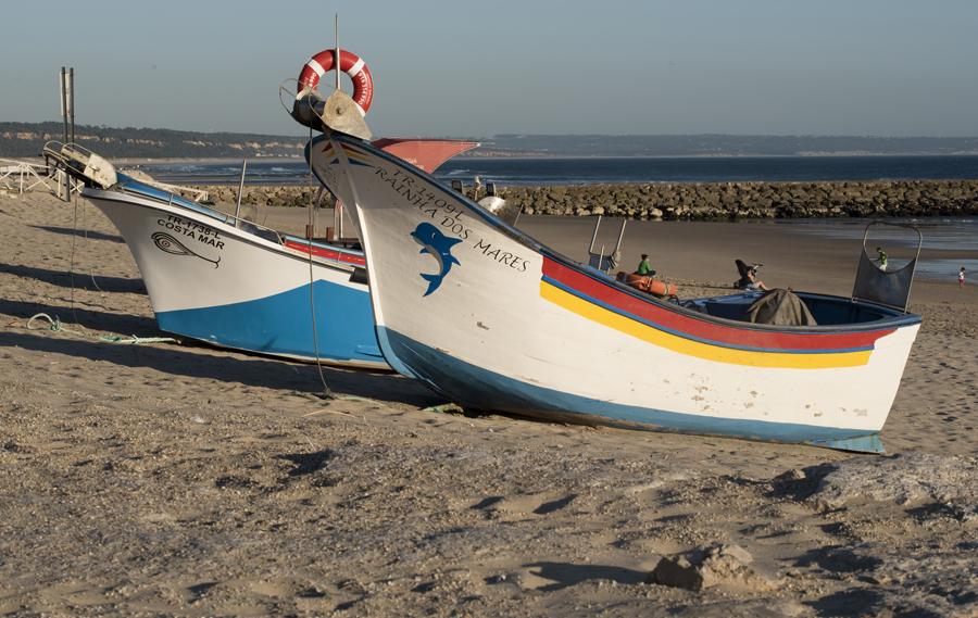 Barcos de arte xávega