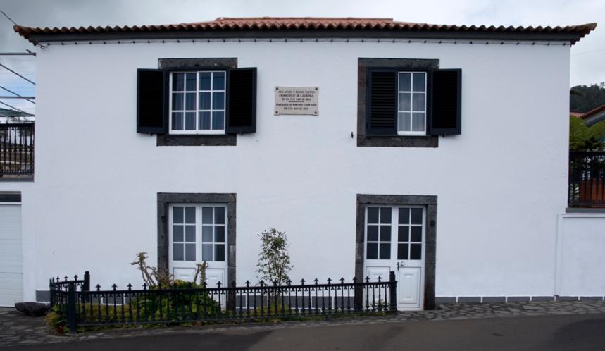 A casa onde nasceu Francisco de Lacerda