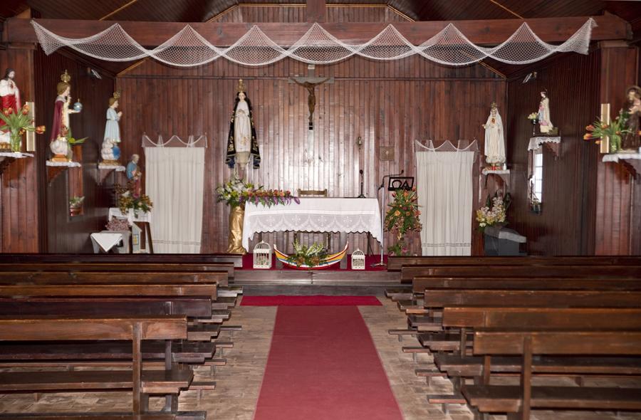 Interior da igreja da Nossa Senhora da Conceição
