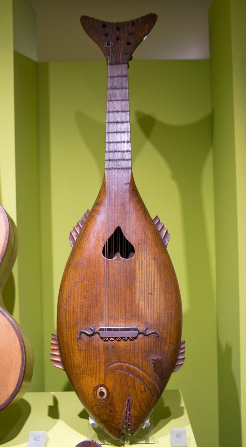 Alguns dos instrumentos revelam muita imaginação