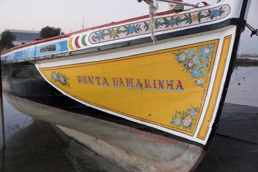 Embarcação tradicional do estuário do Tejo