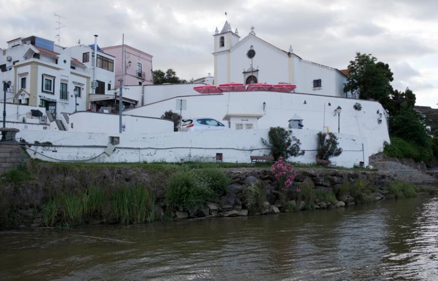 Igreja no centro de Alcoutim