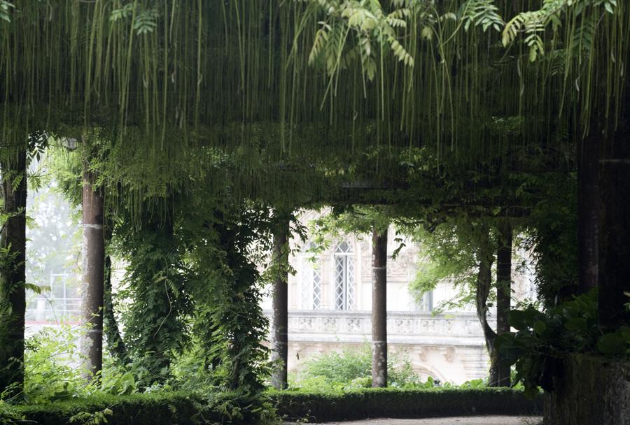 Jardim junto ao Palace do Buçaco