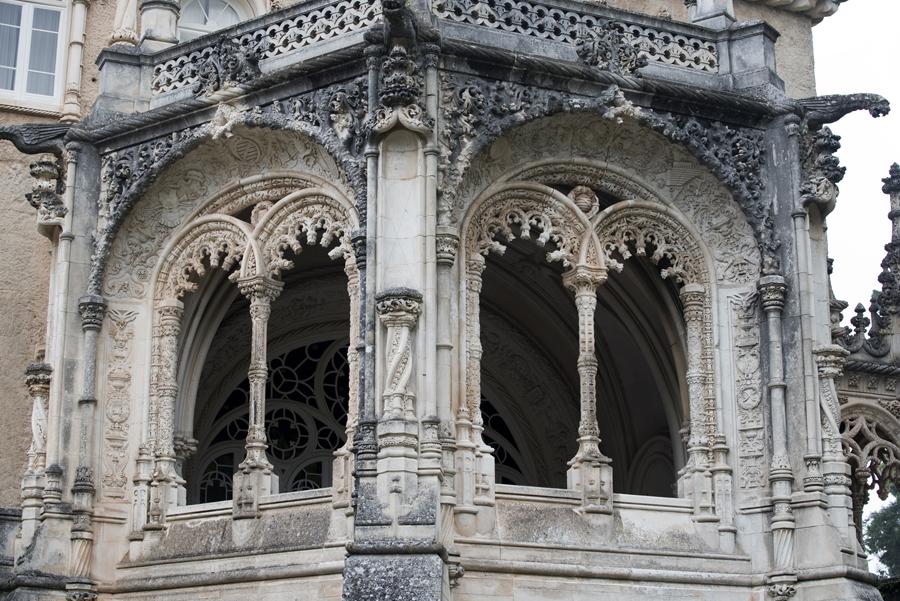 Palace - torreão central que replica a Torre de Belém
