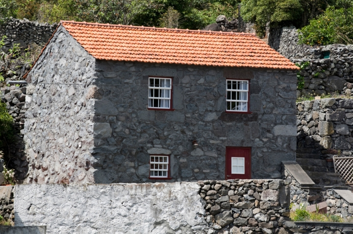 Casa tradicional reconstruida