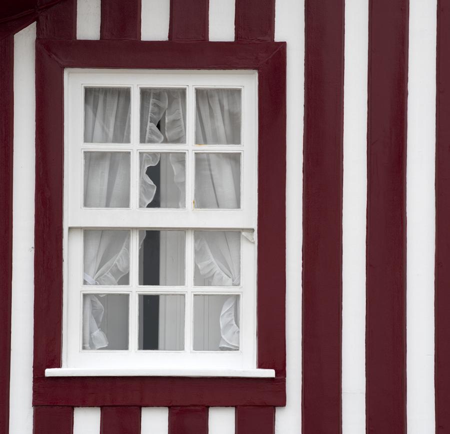 Janela de uma das casas