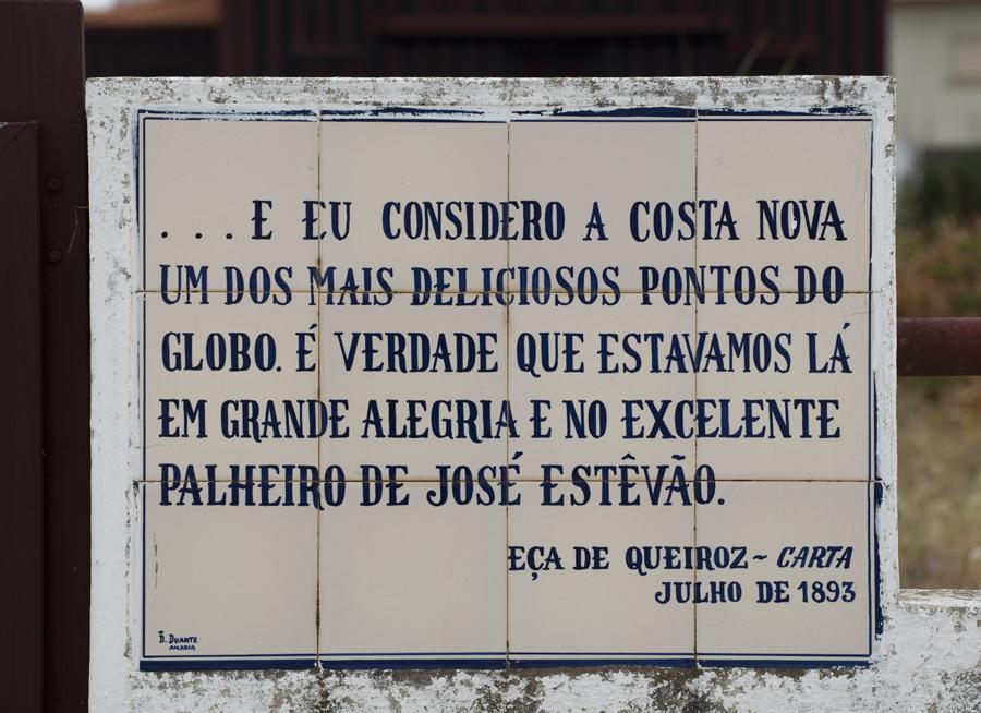 Excerto de uma carta de Eça de Queiróz