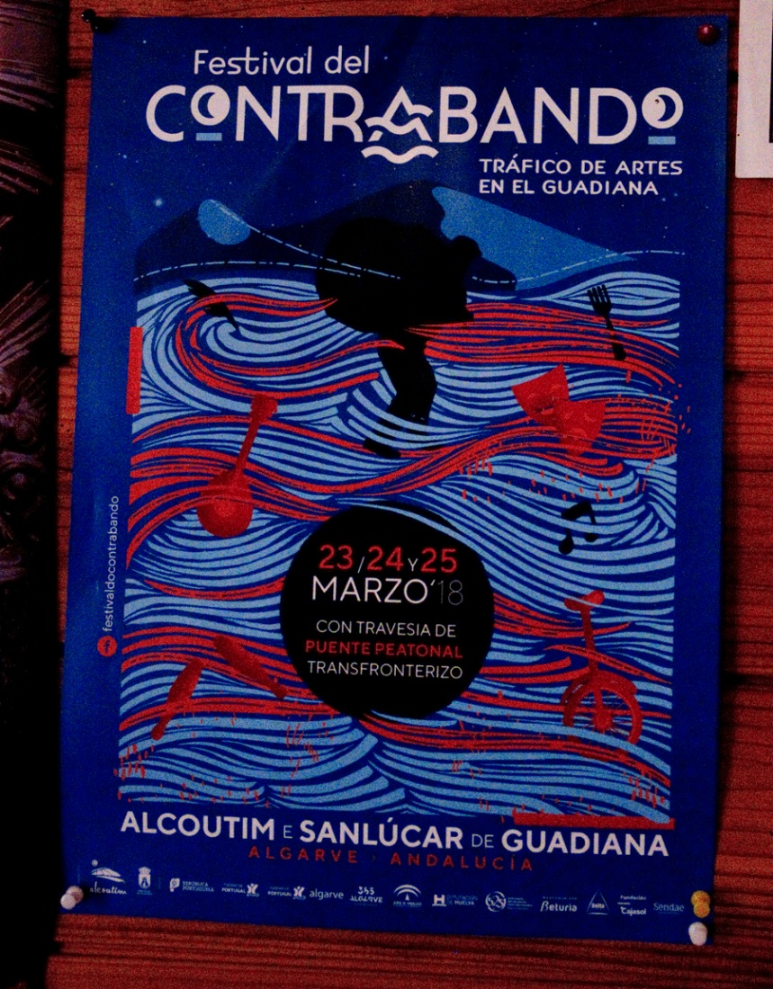 Cartaz do Festival do Contrabando