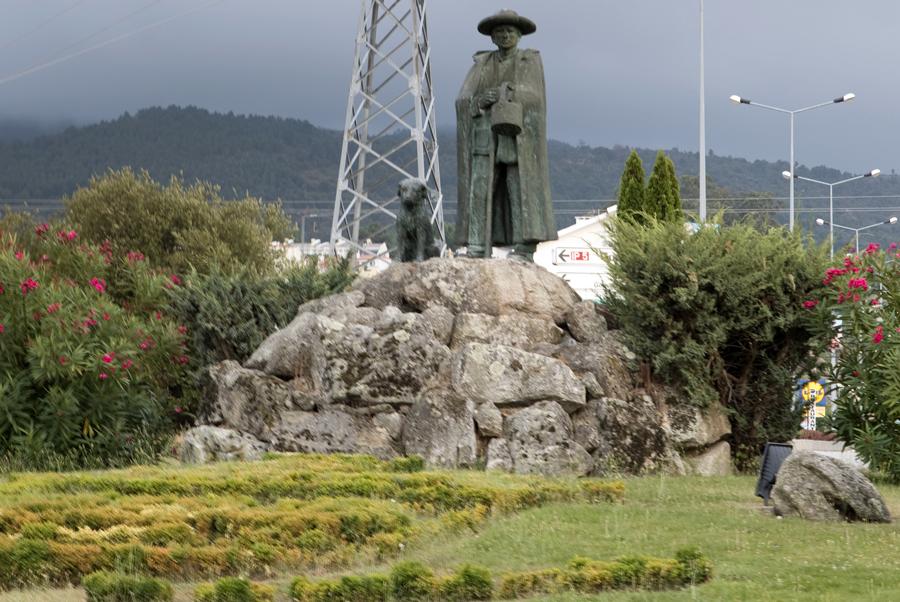Entrada de Gouveia com homenagem aos pastores