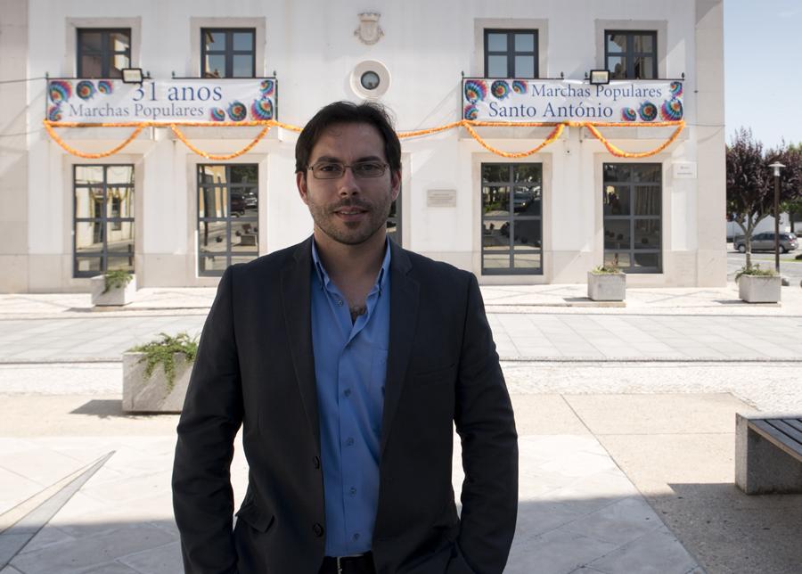 Hélio Antunes, vereador de Cultura e Turismo de Ferreira do Zêzere