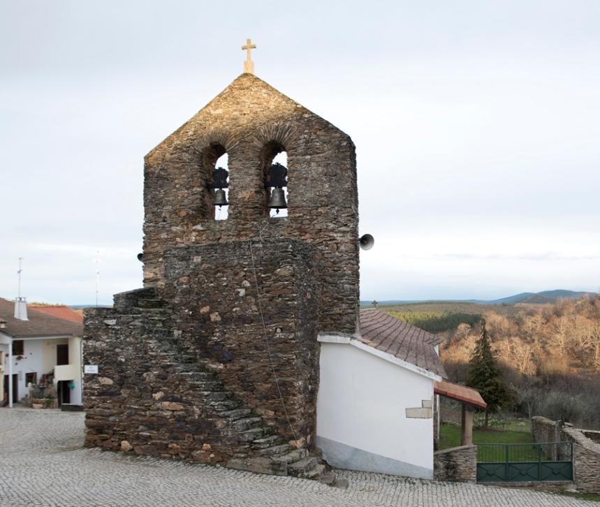 Campanário da igreja matriz