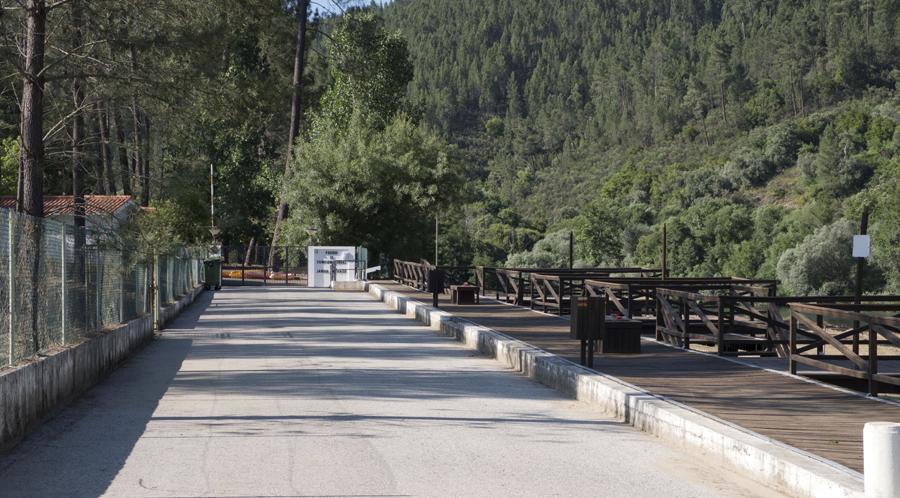 Entrada para Parque de Campismo
