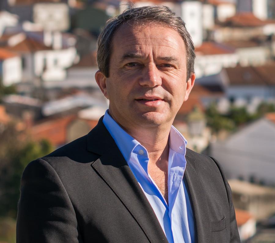Jorge Abreu, presidente da Câmara de Figueiró dos Vinhos