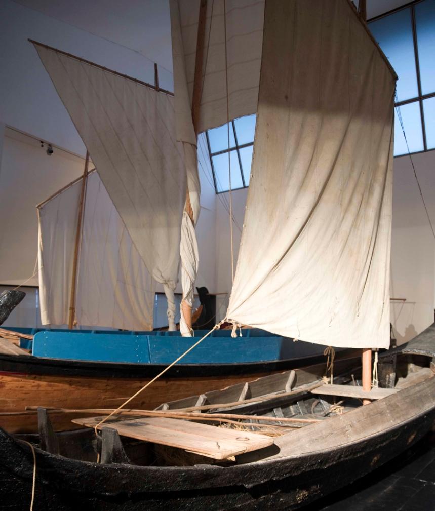 Embarcações tradicionais da Ria de Aveiro